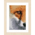 Counted cross stitch kit Fox
