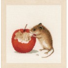 Counted cross stitch kit Little mouse