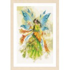 Counted cross stitch kit Fantasy elf fairy