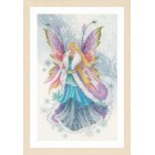 Counted cross stitch kit Fantasy winter elf fairy