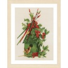 Counted cross stitch kit My winter home