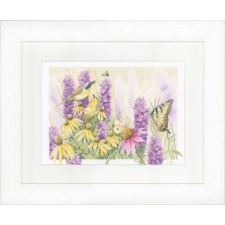 (OP=OP) Counted cross stitch kit Butterfly bush