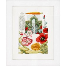 (OP=OP) Counted cross stitch kit Vegetable garden