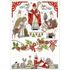 Sinterklaasfeest - St. Nicolaas (rode versie)