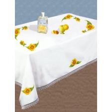 (OP=OP) Tafelkleed gele zonnebloemen met servetten