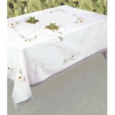 Tafelkleed groente met servetten