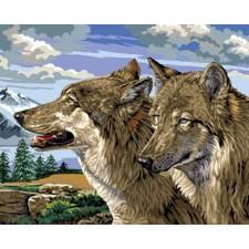 Wolf en wolvin