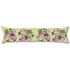 (OP=OP) Tochtkussen roze rozen