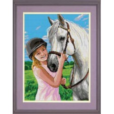 (OP=OP) Meisje met paard