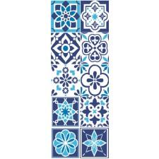 Blauw aardewerk - Faïence blue