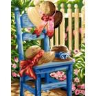 Hoeden in de tuin - Les chapeaux