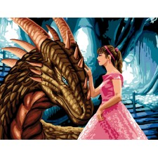 De prinses en de draak - La princesse et le dragon