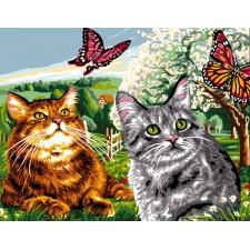 Poezen en vlinders - Les Papillons