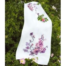 Tafellopertje paarse bloemen