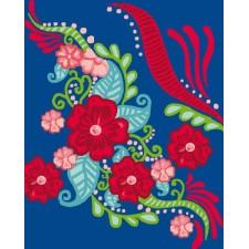 Bloemenmotief - Motif floral
