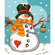 Sneeuwman - Bonhomme de neige