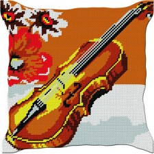 Kussen viool