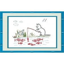 Vissende kat - Chat pêcheur