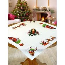 Kerstman en rendier - Père Noël