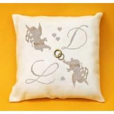 Ringkussen engeltjes Cupido - COUSSIN MARIAGE ANGELOTS CUPIDON