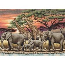 Afrikaanse zonsondergang (African Sunset)