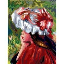 Meisje met hoed (Monet)