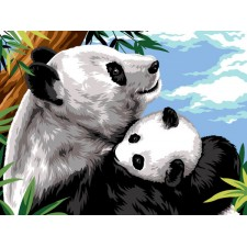 Panda en jong - Cajoler