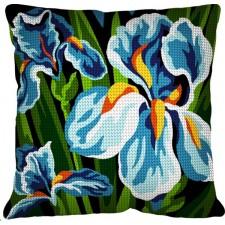 Kussen Irissen - Les iris