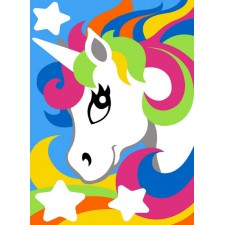Eenhoorn - Licorne- Colored unicorns