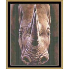 The Many Faces Collection - Rhino Face