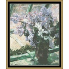 Great Masters Still Life Series - Lilacs In Window