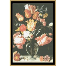 Great Masters Still Life Series -Tulips & Roses