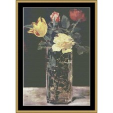 Great Masters Still Life Series - Vase Of Flowers
