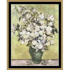 Great Masters Still Life Series - Vase Of Roses