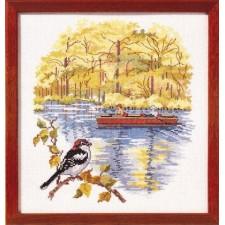 Vogel bij het water
