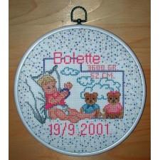 Geboortetegel Bolette