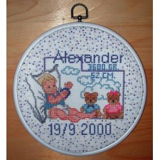 Geboortetegel Alexander