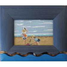 Kinderen aan het strand 1