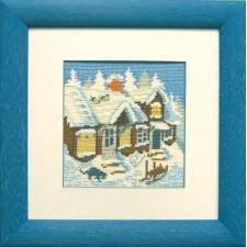 Huis in winter