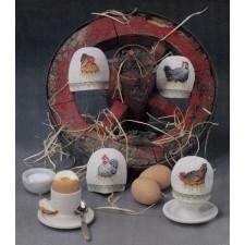Pasen: eierwarmers kippen