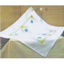 Kleedje blauwe bloemetjes