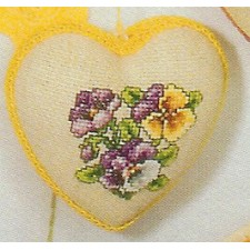 Hartje viooltjes