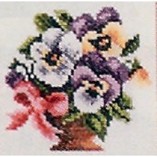 Vaas viooltjes