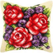 Borduurkussen Bloemen - Flowers
