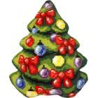 Borduurkussen Kerstboom- Christmas Tree