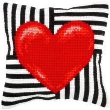 Borduurkussen Hart - Heart