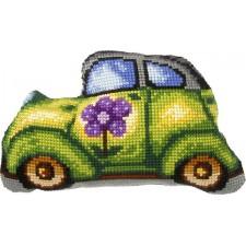 Borduurkussen Auto - Car