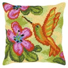 Borduurkussen Kolibrie