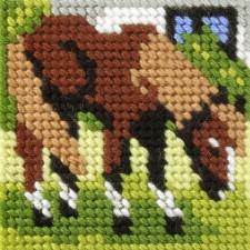 Borduurstramientje Paard - Horse