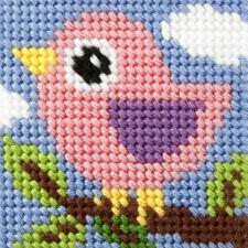 Borduurstramientje Vogel - Bird